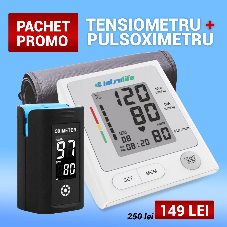 pachet tensio pulsoximetru